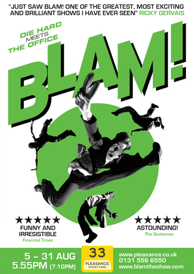 BLAM! Edinburgh Festival Fringe 2013 – 2015
