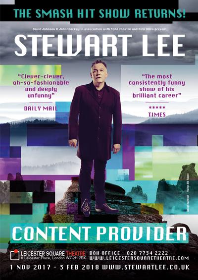 Stewart Lee Content Provider2016 – 2018