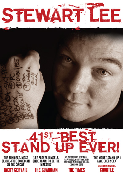 Stewart Lee 41st Best Comedian Ever 2006 – 2008