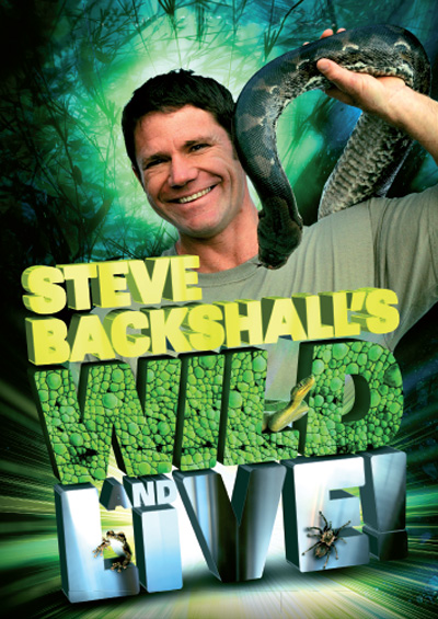 "Steve Backshall <div class=""projtxt2"">Touring</div>  <div class=""projtxt3"">2011 – 2013</div>"