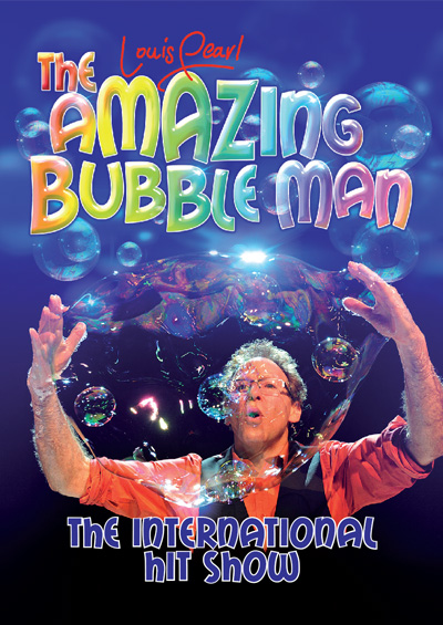 Amazing Bubble Man Edinburgh Festival Fringe and UK Touring 2015