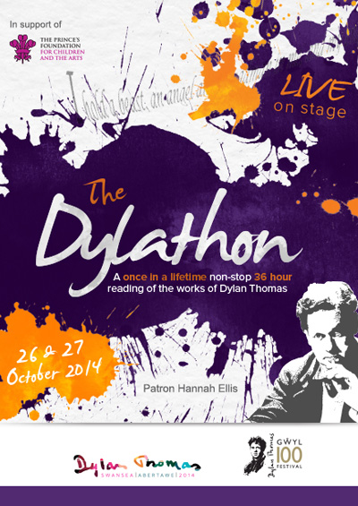 "The Dylathon <div class=""projtxt2"">Swansea Grand Theatre 2014</div>"