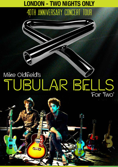 Tubular Bells For Two Edinburgh Festival Fringe 2013 and UK Touring