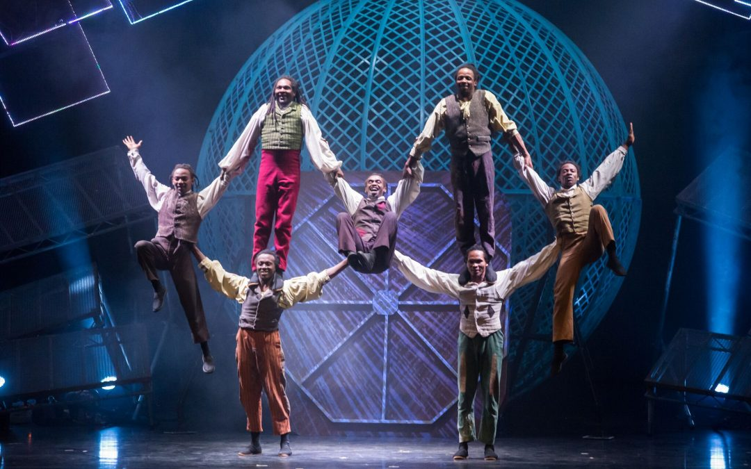 REAL circus made-for-theatre: CIRQUE BERSERK! in the WEST END and EDINBURGH FESTIVAL FRINGE