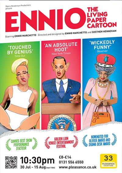 "Ennio Marchetto <div class=""projtxt2"">Edinburgh Festival Fringe & London 2014</div>"
